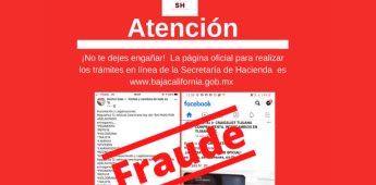 Alerta, recaudación de rentas sobre tramitadores fraudulentos que operan en redes sociales