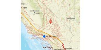 Se registra temblor de 5.5 en California