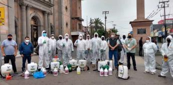 Retira ayuntamiento cerca de media tonelada de basura en zona centro con apoyo de ambulantes