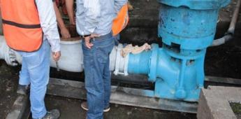 Controla fuga de agua la CESPTE, que afectó a 30 colonias