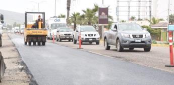Rehabilita el Ayuntamiento 274 mil metros cuadrados de calles
