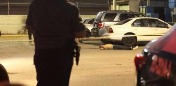 Ejecutan a hombre dentro de un estacionamiento