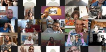 Notable participación tuvo el conversatorio sobre la Trienal Tijuana I: Internacional Pictórica
