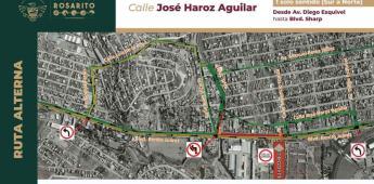 Habilita Gobierno Municipal calle José Haroz en un solo sentido