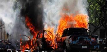 Protesta en Jalisco por muerte de Giovanni se torna violenta