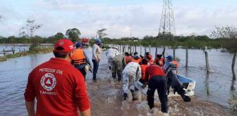 Cristóbal saldría hoy de territorio nacional: Protección Civil
