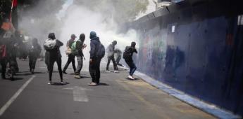 Manifestantes protestan en la embajada de Estados Unidos y en Polanco, CDMX