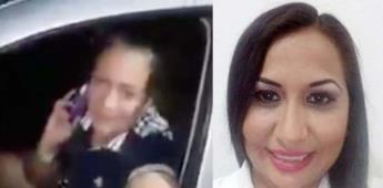 Liliana Castro, presidenta de Morena en Quintana Roo, amenaza de muerte a un agente de la policía