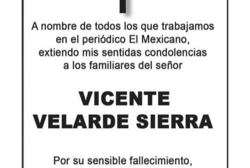 Vicente Velarde Sierra