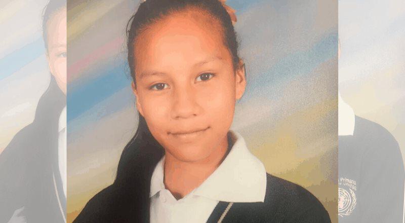 Pesquisa, menor de 12 años, Balbina Jael Texis de Jesús