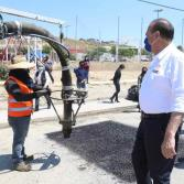 Ayuntamiento beneficia a más de 19 mil tijuanenses con bacheo en Villas del Prado: Arturo González
