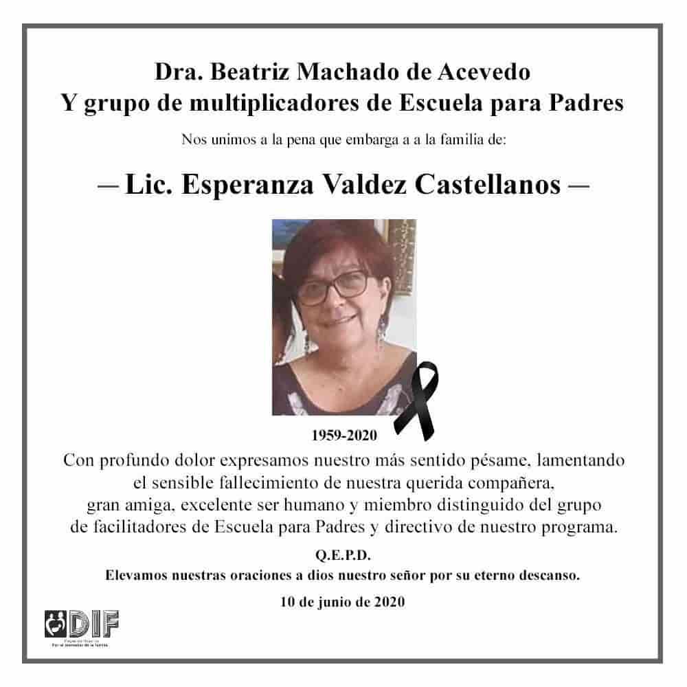 Esperanza Valdez Castellanos