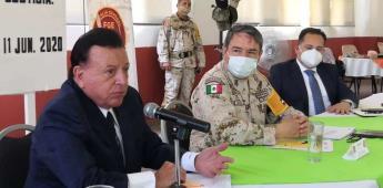Trabajan autoridades para fortalecer seguridad en San Quintín