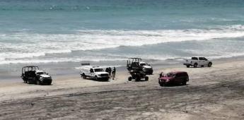 Localizan cuerpo sin vida en la orilla del mar en Playas de Tijuana