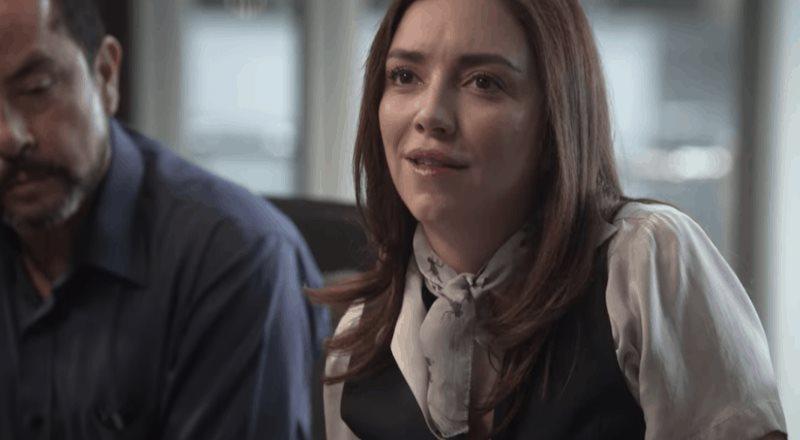 Regina Blandón y su personaje en Historia de un crimen: la búsqueda