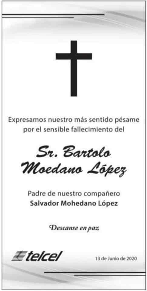 Sr. Bartolo Moedano López