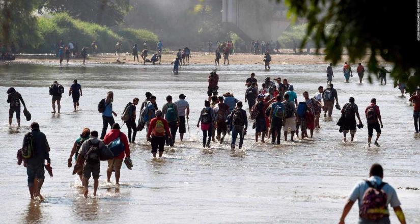 Solicitan a migrantes a evitar cruzar a EE.UU en temporada de altas temperaturas y pandemia