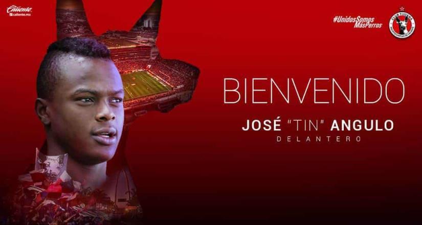 El Club Tijuana realizó el fichaje del delantero ecuatoriano José Angulo