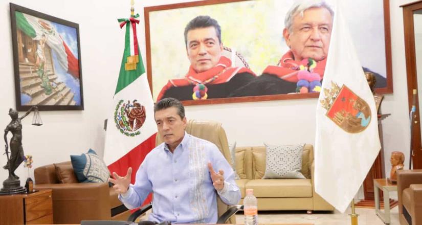 Sostiene Rutilio Escandón llamada oficial con embajador de Estados Unidos, Christopher Landau