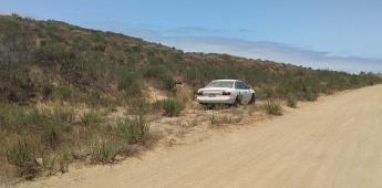 Localizan vehículo con impactos