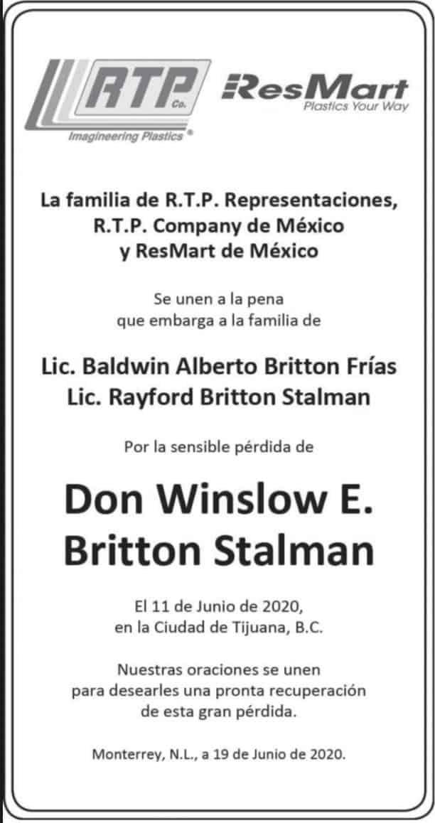 Don Winslow E. Britton Stalman