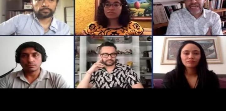 Tenoch Huerta lanza fuerte discurso sobre la comedia a Chumel Torres