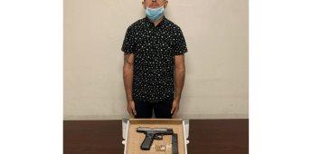 Detiene la Guardia Estatal de Seguridad e Investigación a hombre armado