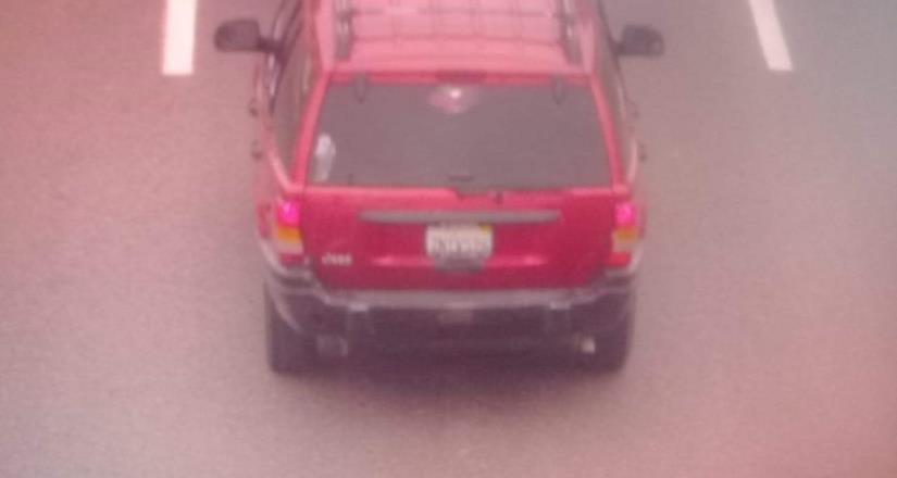 Arco lector detecta vehículo robado en Playas de Rosarito
