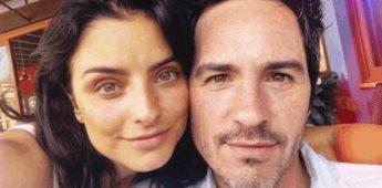 Aislinn Derbez felicita a Mauricio Ochmann por el Día del Padre
