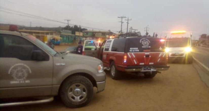 Hombre es atropellado en Camalú