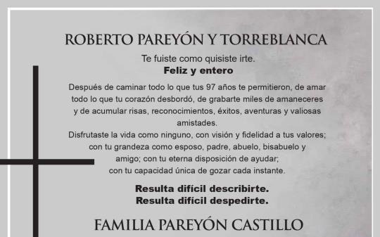 Roberto Pareyón Torreblanca