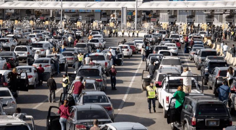 Cerrarán por obras carriles en inmediaciones de San Ysidro durante cinco noches