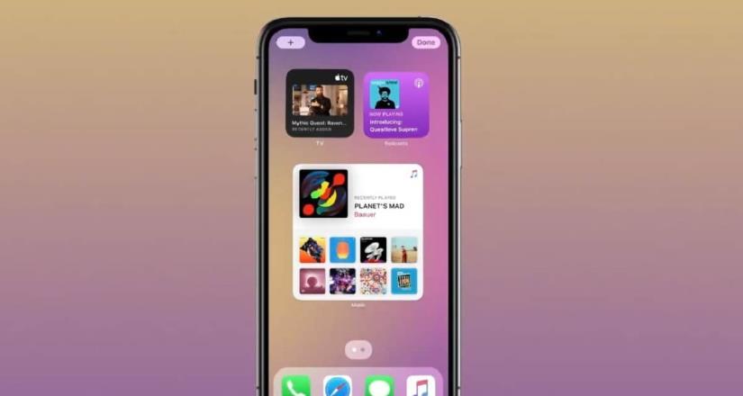 Novedad Apple; Presentan  iOS 14