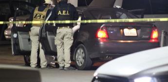 Atacan con arma de fuego a pareja en un estacionamiento