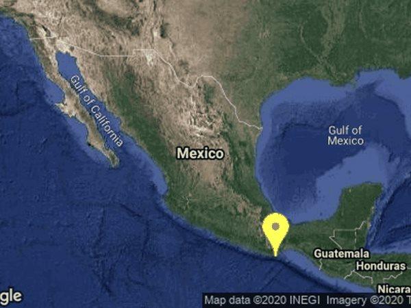 Se registra sismo de 7.1 de magnitud, epicentro en Oaxaca