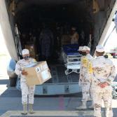 Llega avión de la Fuerza Aérea Mexicana con insumos médicos a BC