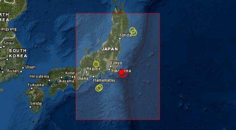Se registra movimiento telurico en Japón