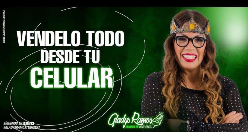 En entrevista con El Mexicano, Gladys Ramos habla acerca de su libro Véndelo todo desde tu celular