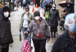 Un porcentaje del 30% de la caravana migrante que se dirige a México, está infectado de covid-19