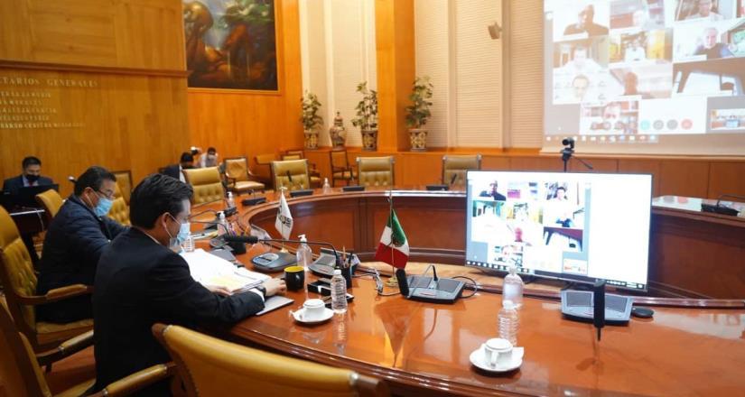 Se realizó sesión del H. Consejo Técnico del IMSS para fortalecer acciones frente a la pandemia