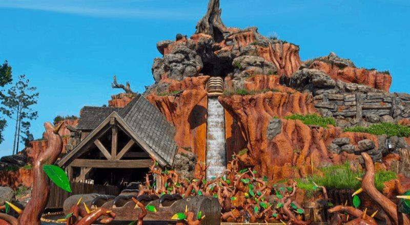 Disneyland rediseñará la atracción Splash Mountain