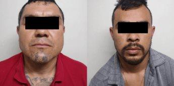 Detiene Fiscalía General del Estado a dos presuntos sicarios del Cártel de Sinaloa