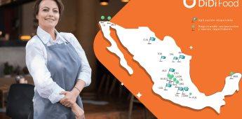 DiDi Food crece al doble de la mano de los restauranteros