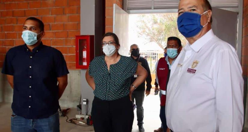 Supervisan Gobierno Municipal y SEDATU Centro Cultural Deportivo Gran Tenochtitlán