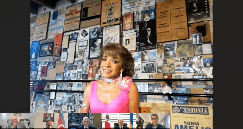 Rinden homenaje a Sonia Amelio, Prima Ballerina y Mejor Crotalista