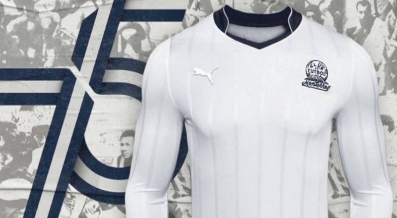 Monterrey lanza jersey conmemorativo por su 75 aniversario