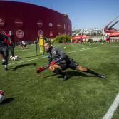 Entrenamiento del Club Tijuana Xoloitzcuintles de Caliente