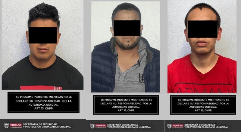 Detiene la SSPCM a tres hombres por posesión de arma de fuego