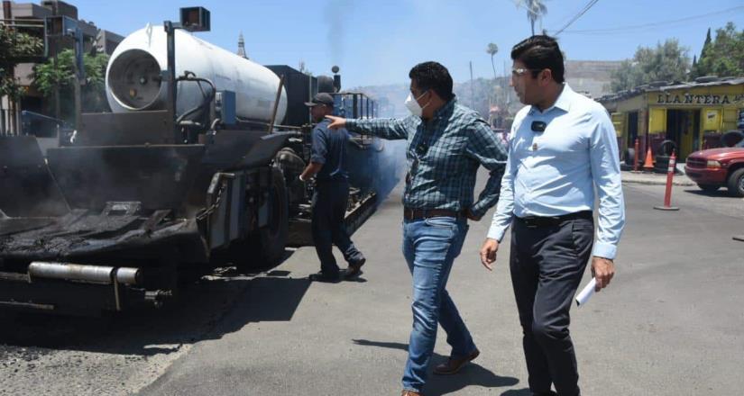 Rehabilita Gobierno Municipal la calle Diez