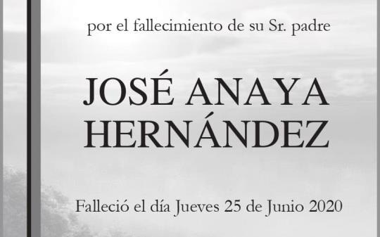 José Anaya Hernández